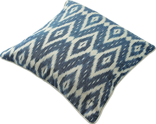 KISSENHÜLLE IKAT 45X45 DENIM