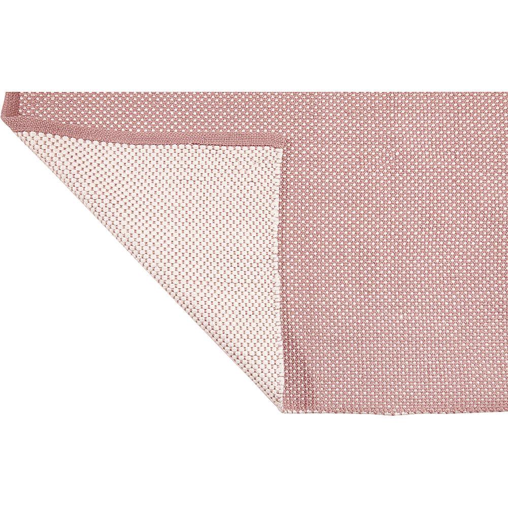 Baumwolle Teppich Läufer Dots 70 x 200 cm in Mauve online kaufen