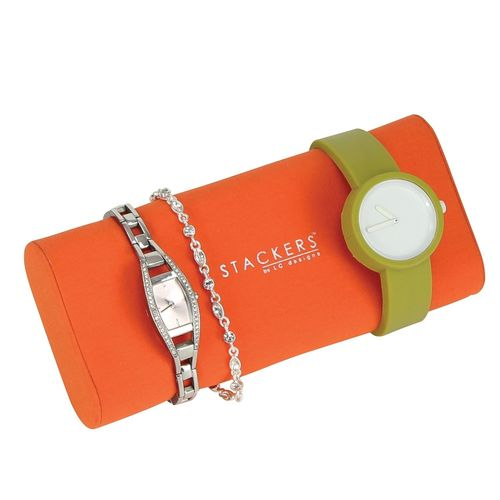 STACKERS UHREN-/ARMBANDKISSEN ORANGE