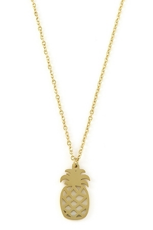 KETTE ANANAS GOLD