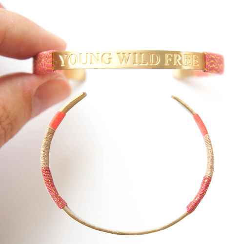 ARMREIF YOUNG WILD FREEE GOLD