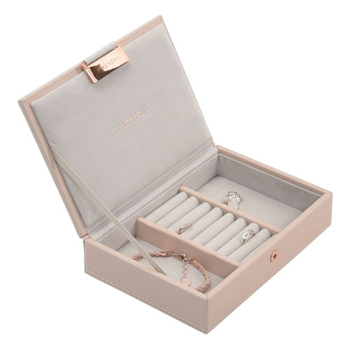 STACKERS MINI SCHMUCKBOX ROSA ROSEGOLD