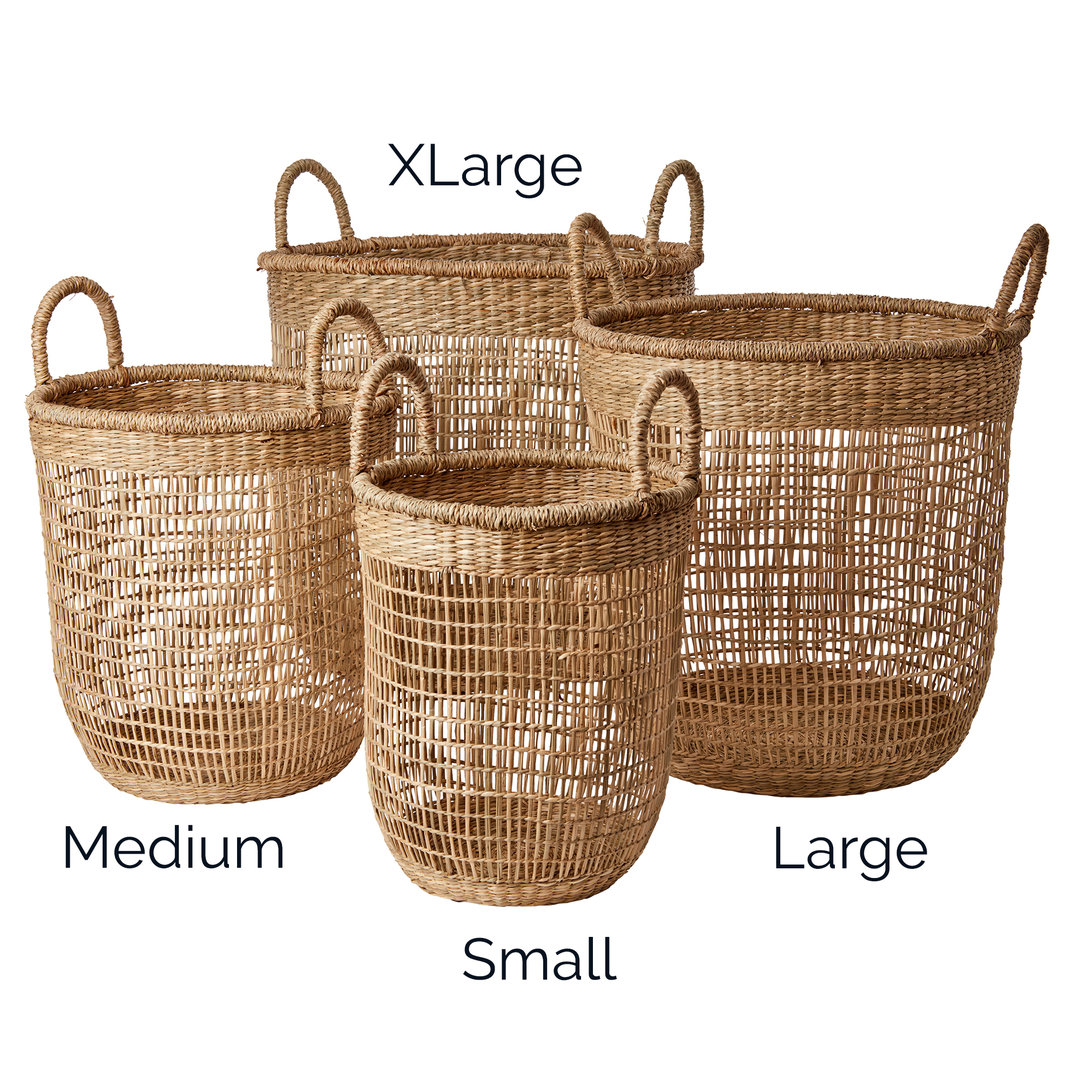 korb seegras elegant zoomen with korb seegras rice basket woven basket of seagrass with. Black Bedroom Furniture Sets. Home Design Ideas