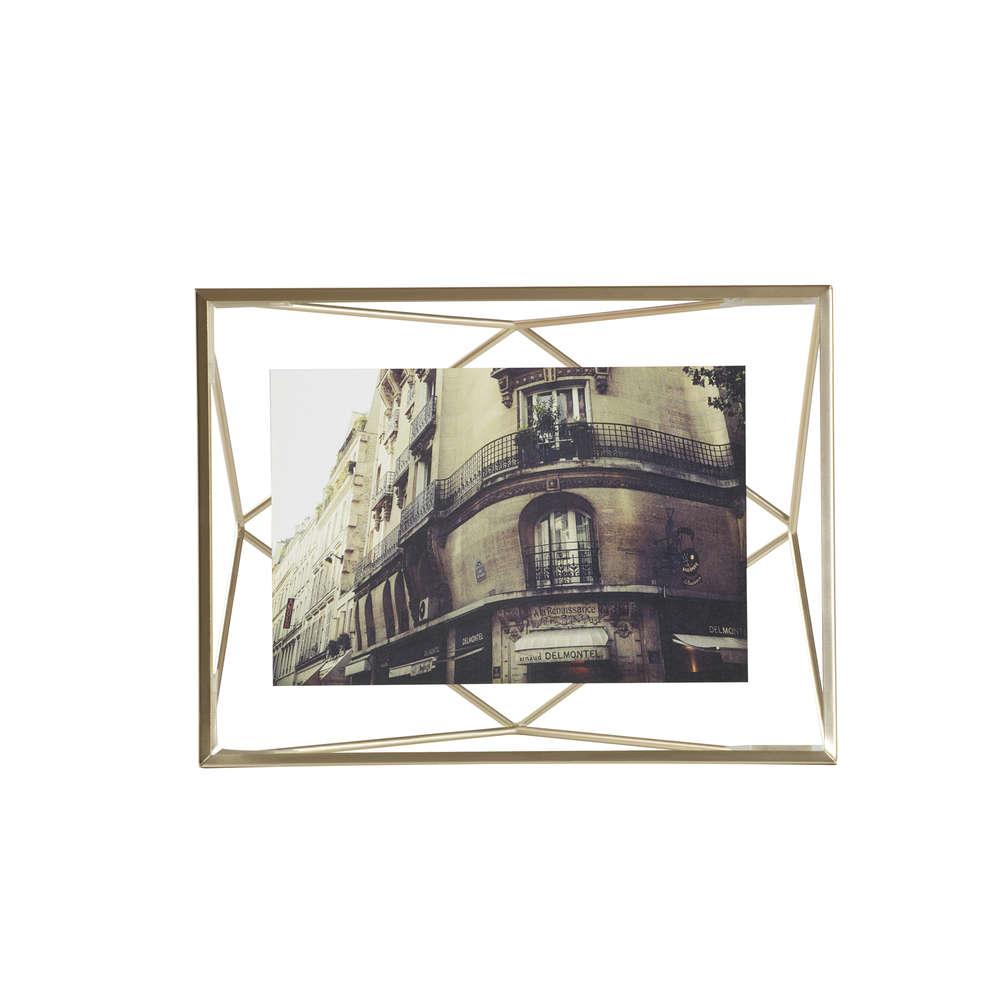 Bilderrahmen Prisma 10x15 Gold Matt online bestellen | Heimkleid