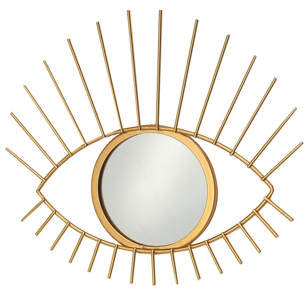 Spiegel Auge In Gold 31cm Online Kaufen Bei Heimkleid Com