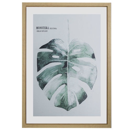 WANDBILD MONSTERA 50X70