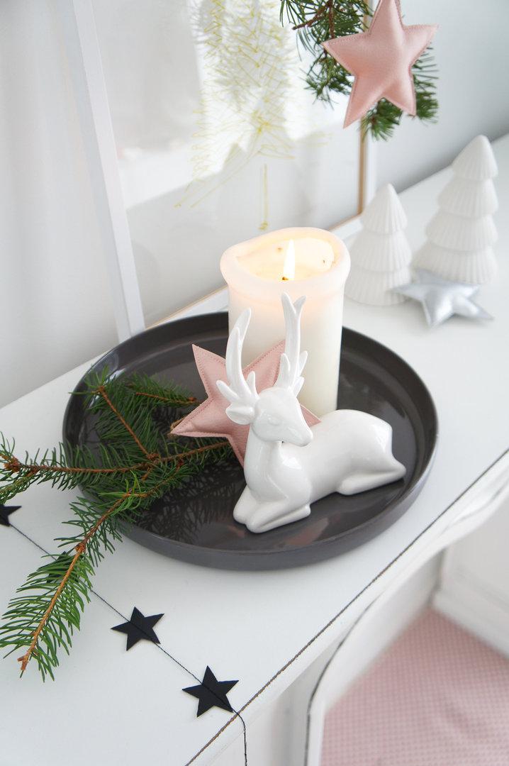 Deko Schale Taupe Aus Keramik 25 Cm Im Heimkleid Dekoshop