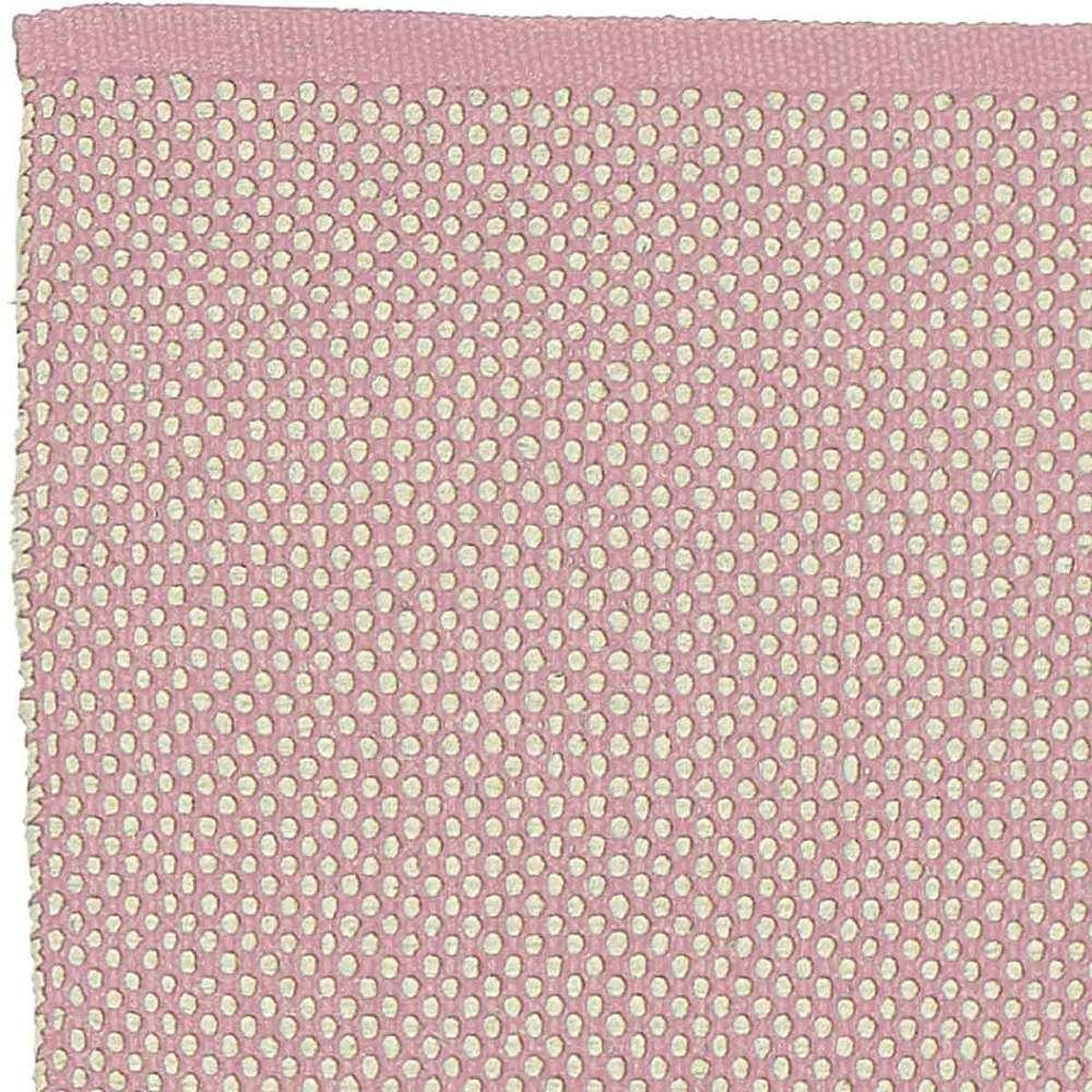 Rosa Baumwolle Teppich Dots 140x200 Von Liv Interior Heimkleid