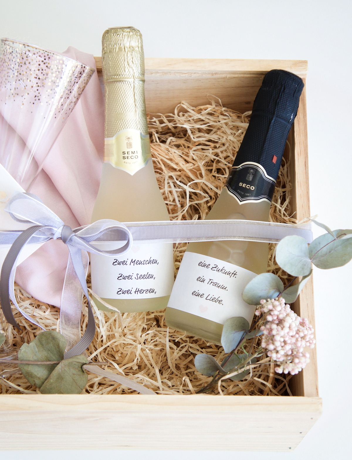Geschenkidee Hochzeitsgeschenke Stilvoll Kreativ Verpacken
